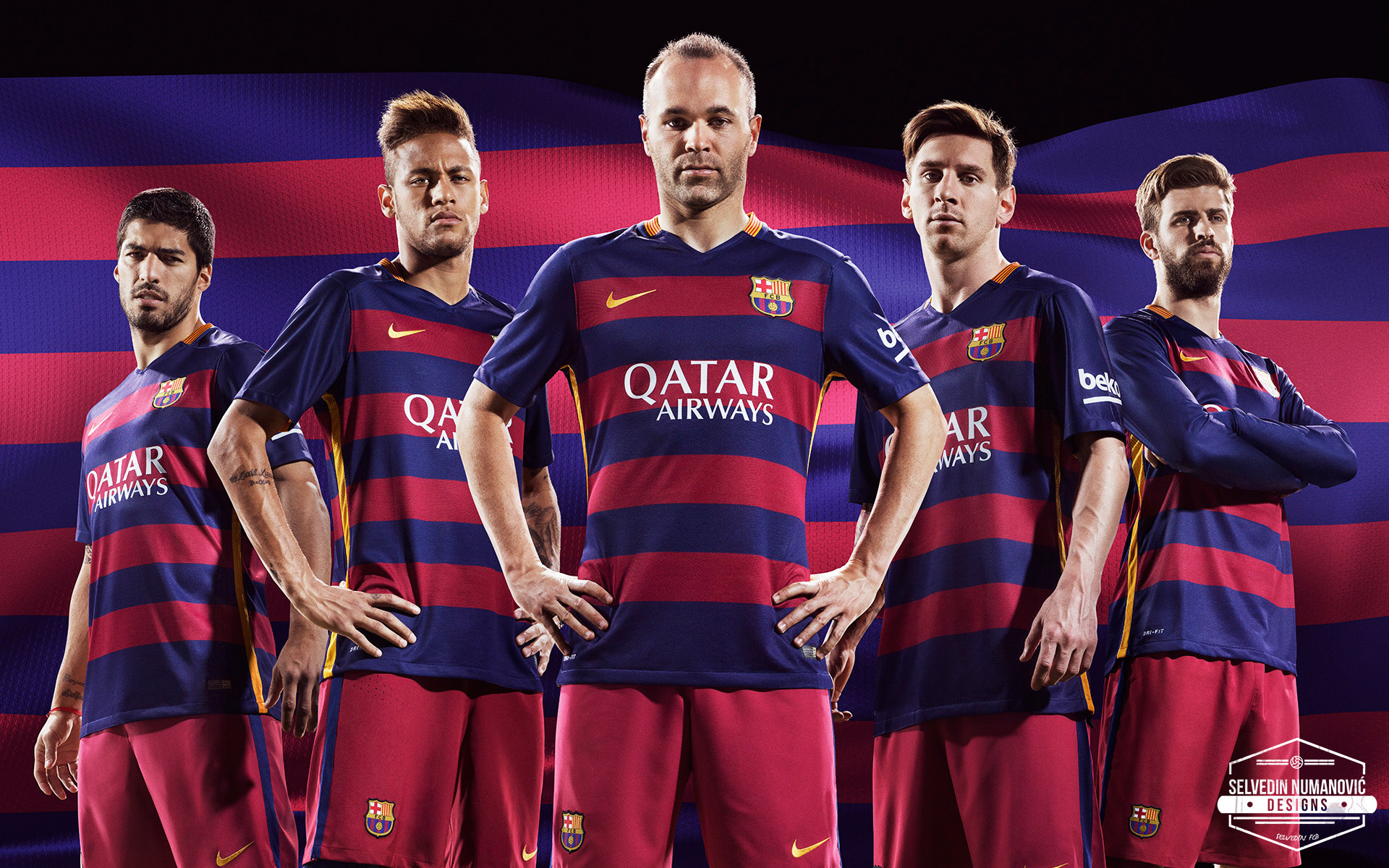 Res: 1920x1200, FC Barcelona Team Club Latest Wallpapers