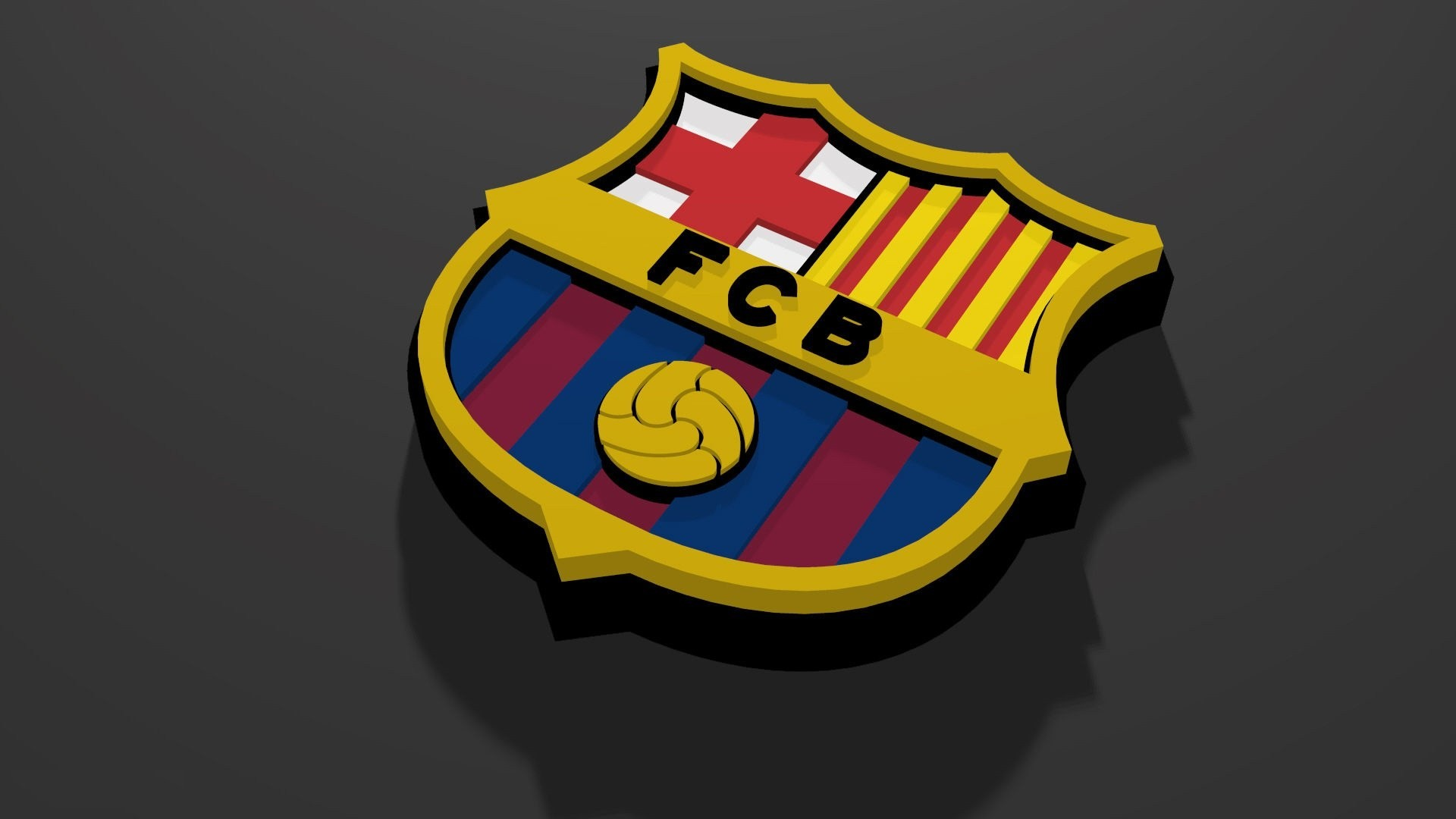 Res: 1920x1080, FC Barcelona Logo Wallpapers ...