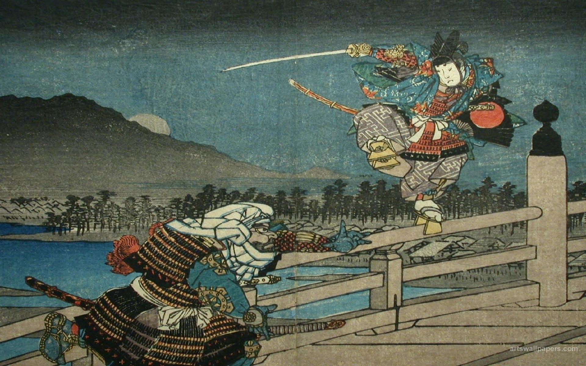 Res: 1920x1200, Samurai Art Wallpaper - WallpaperSafari Japanese Art Samurai Wallpaper