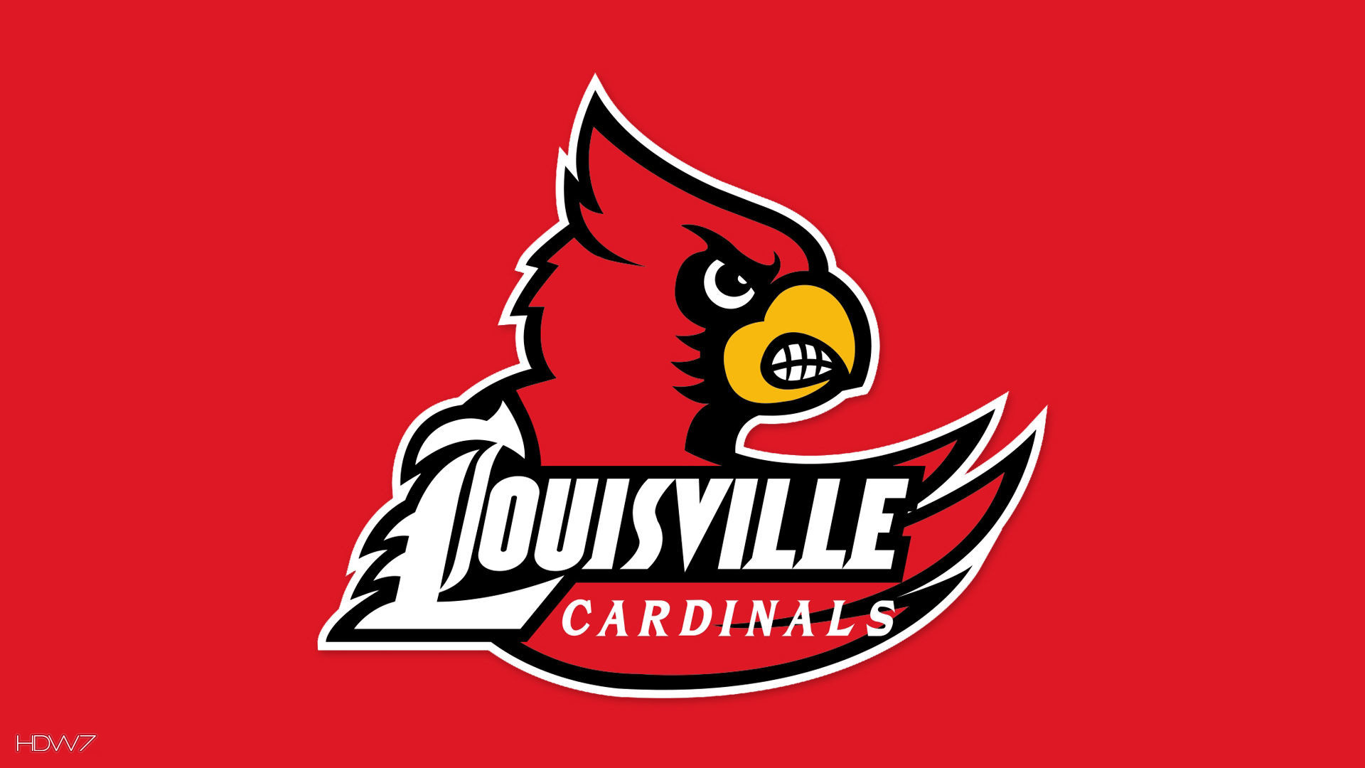 Res: 1920x1080, louisville cardinals logo wallpaper