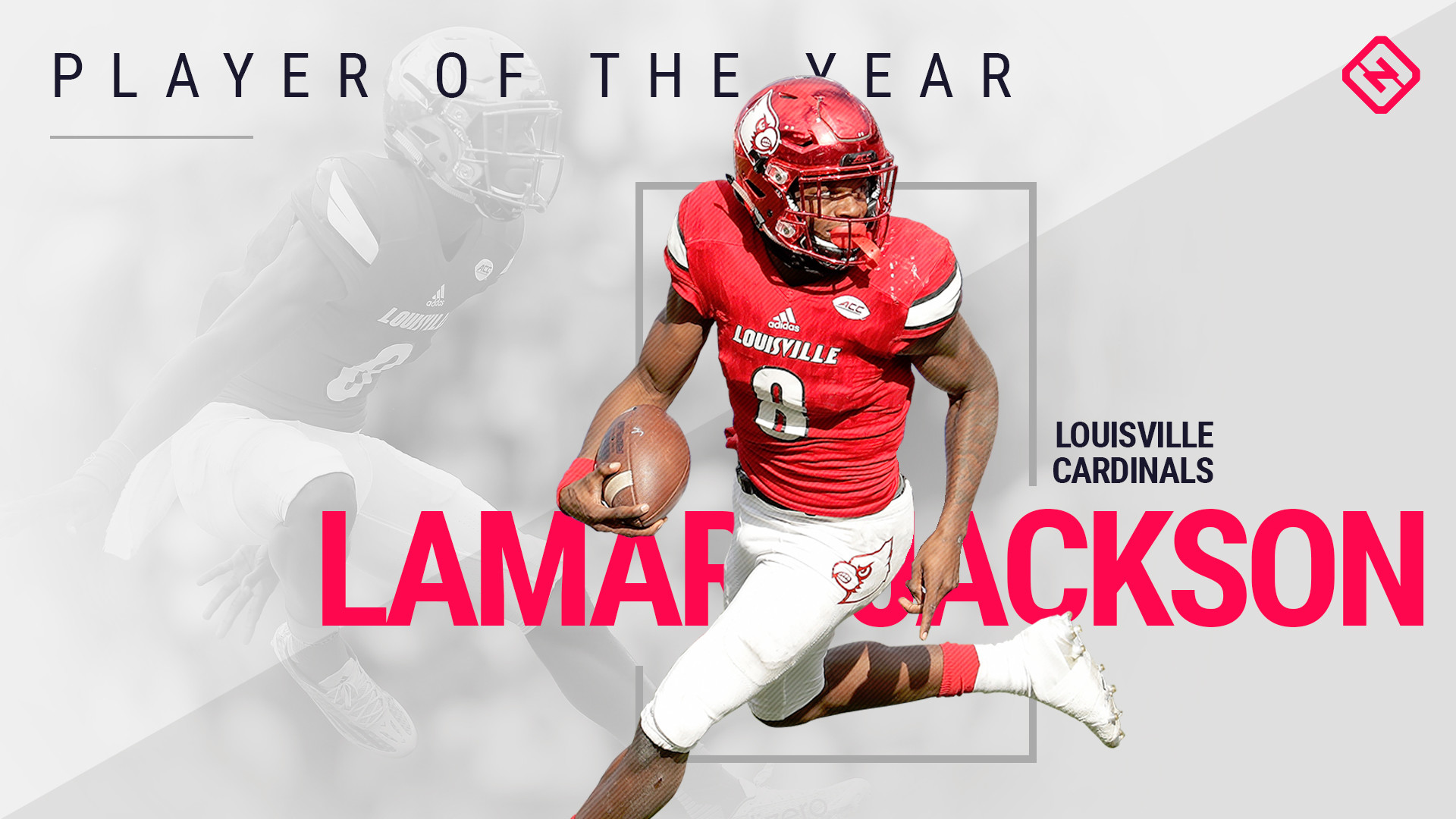 Res: 1920x1080, Louisville QB Lamar Jackson is Sporting News Player of the Year   NCAA  Football   Sporting News