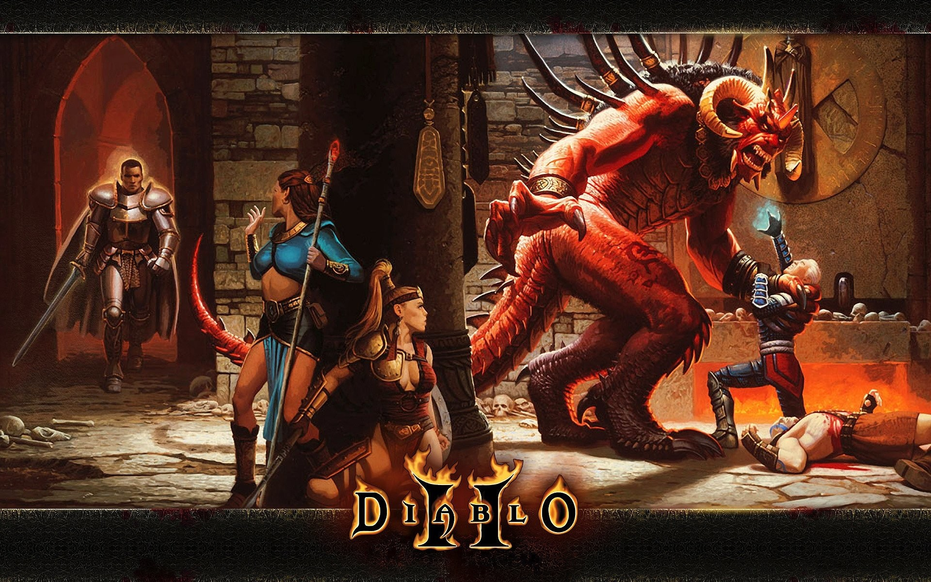Res: 1920x1200, Wallpaper zu Diablo 2: Lord of Destruction herunterladen