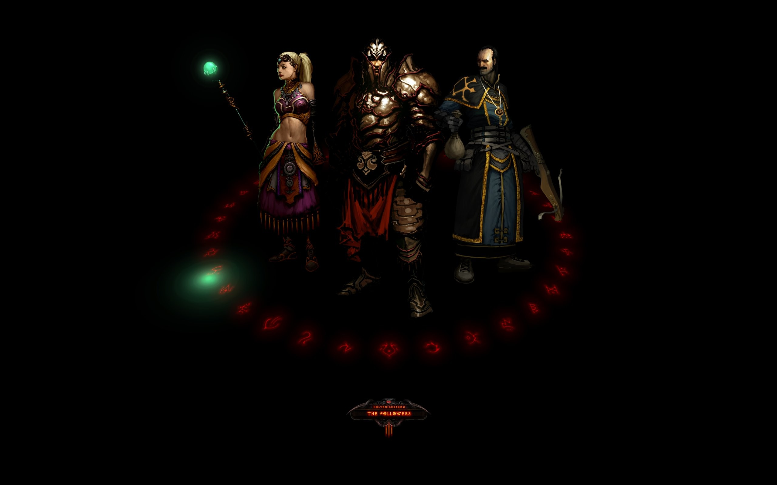 Res: 2560x1600, Diablo II HD Wallpapers 9 - 2560 X 1600