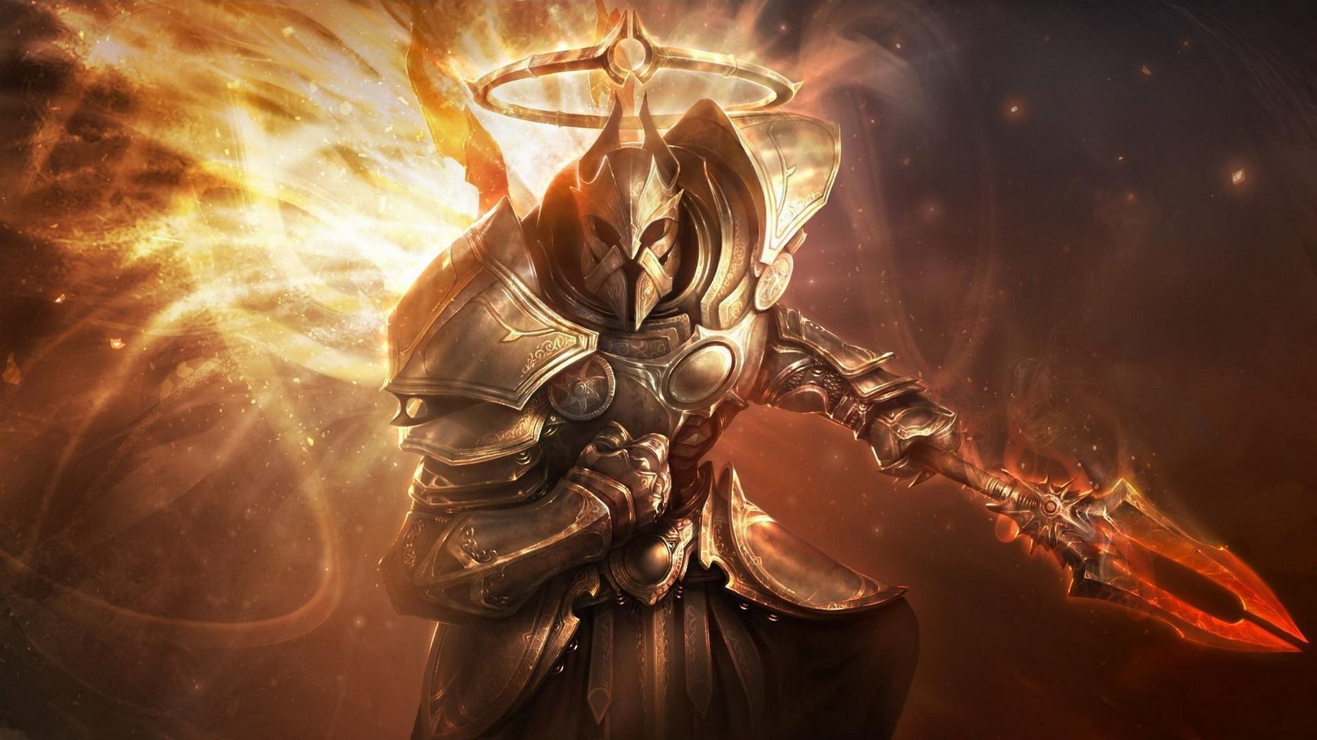 Res: 1920x1080, Diablo Wallpapers Group 1366×768 Diablo 3 Tyrael Wallpapers (33 Wallpapers)  | Adorable Wallpapers