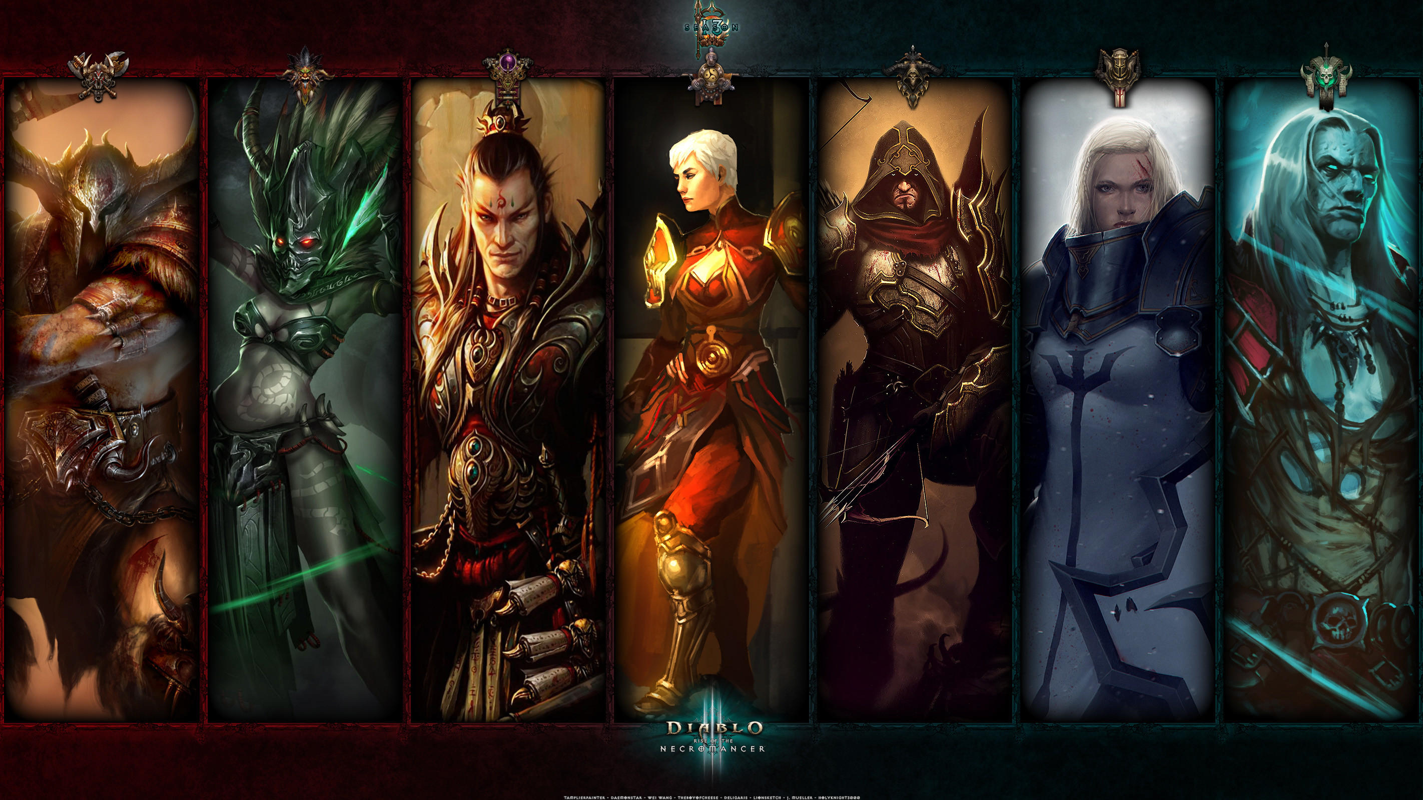 Res: 2844x1600, Season 13: For the Balance II - Diablo Wallpaper and OS Art - Fan Art -  DiabloFans Forums - Forums - DiabloFans