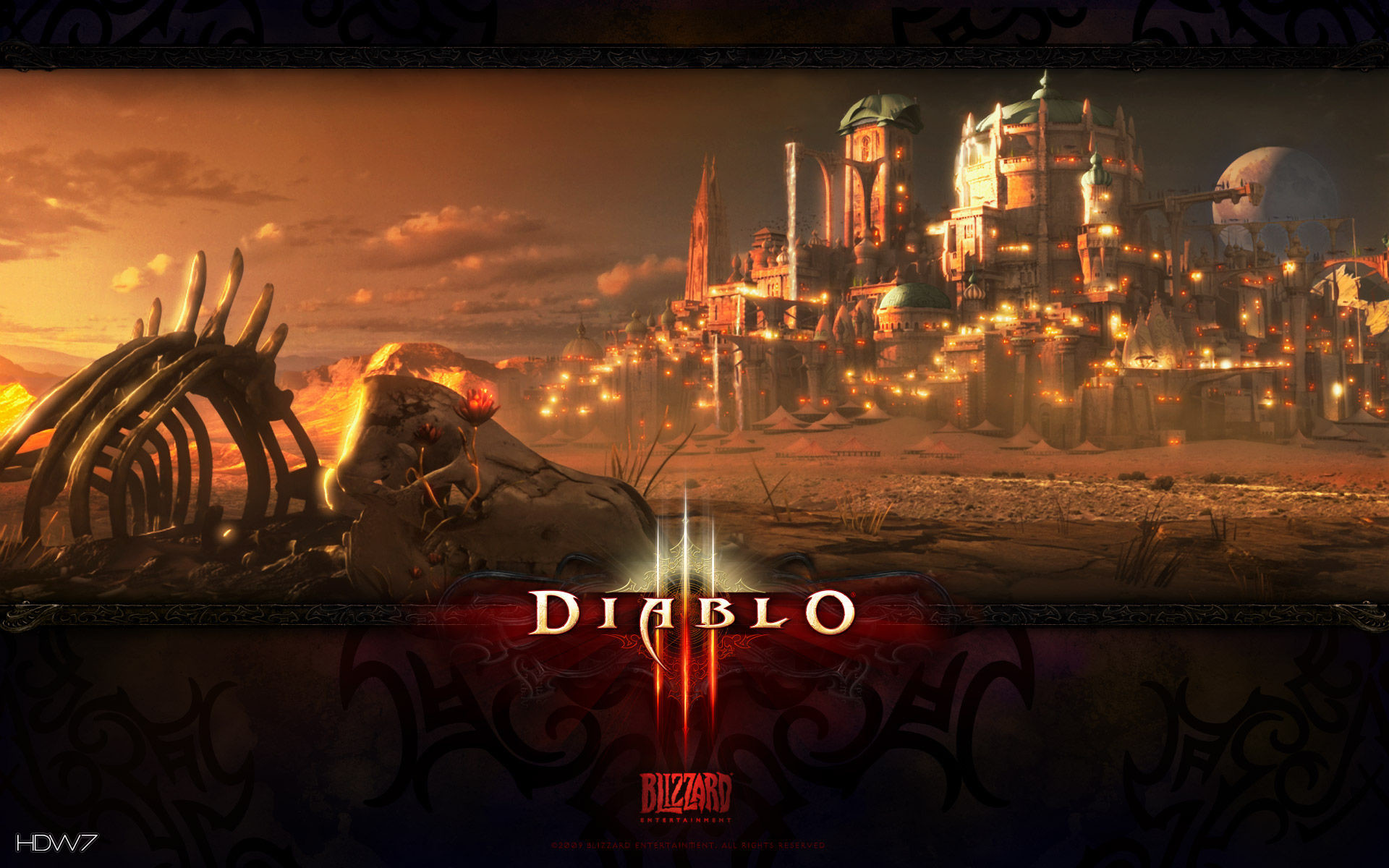 Res: 1920x1200, diablo 3 caldeum 2 widescreen wallpaper