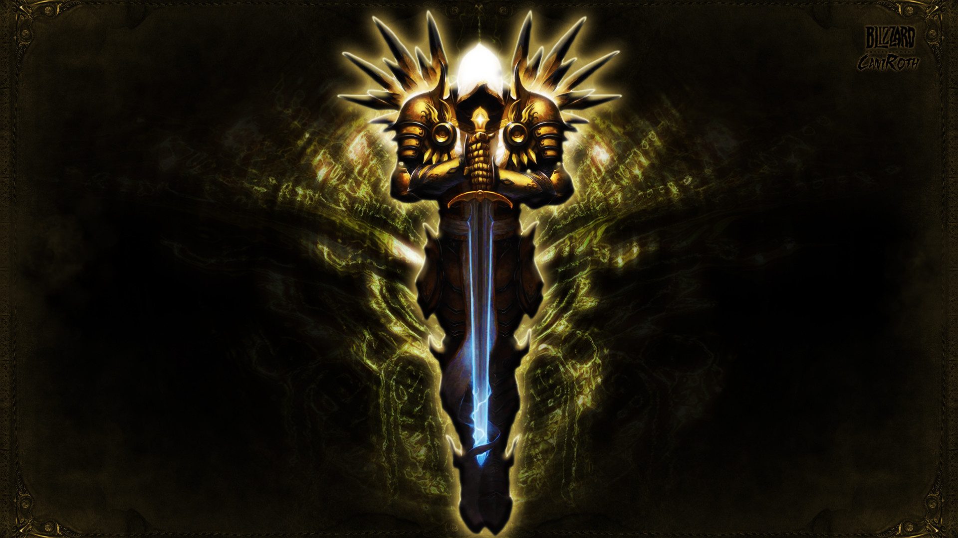 Res: 1920x1080, Tyrael 1 wallpaper from Diablo 3 wallpapers