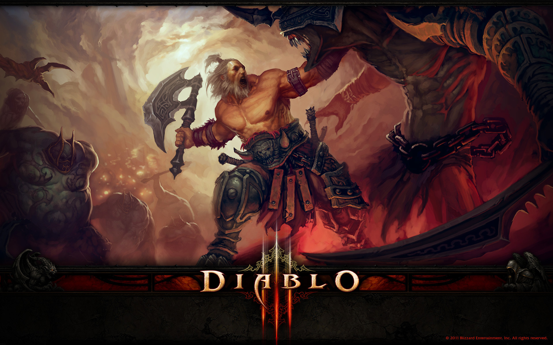 Res: 1920x1200, Diablo III Wallpaper-Pack