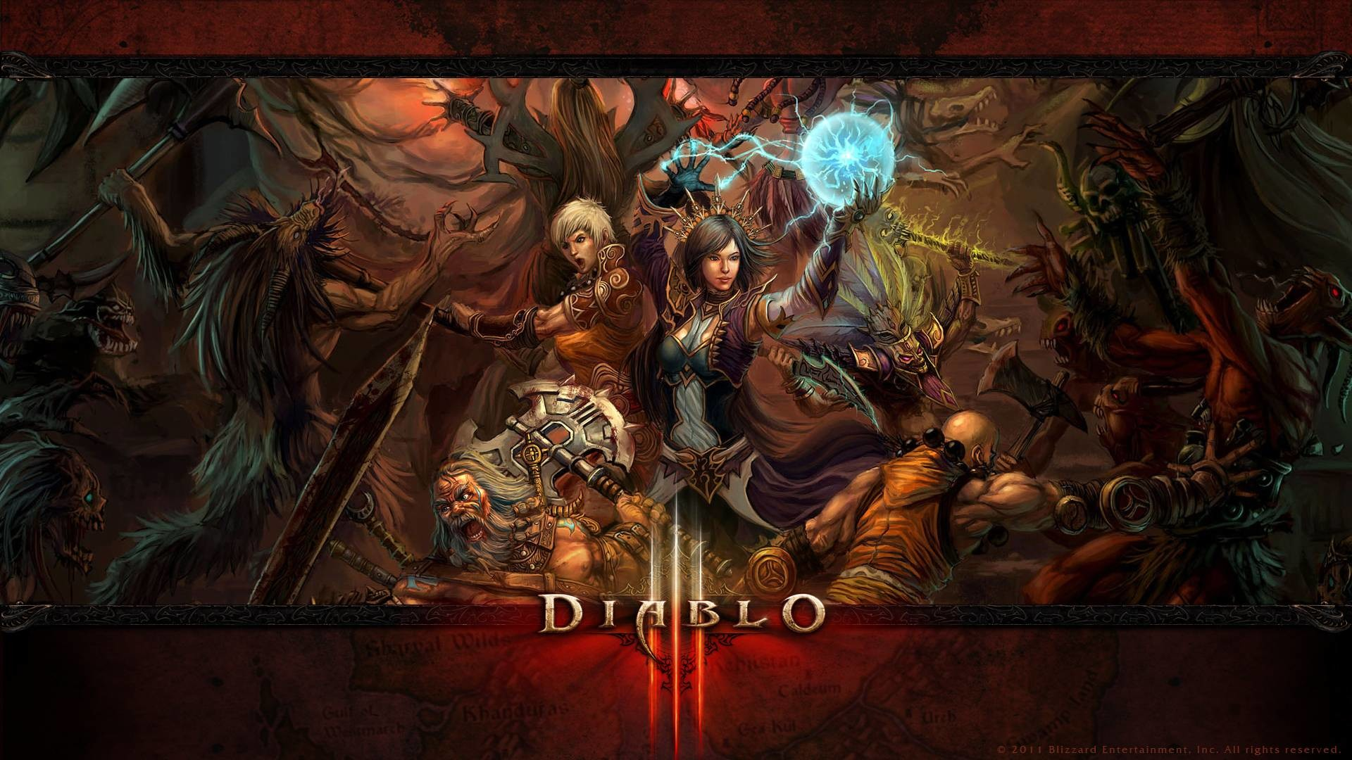 Res: 1920x1080, Wallpapers - Media - Diablo III