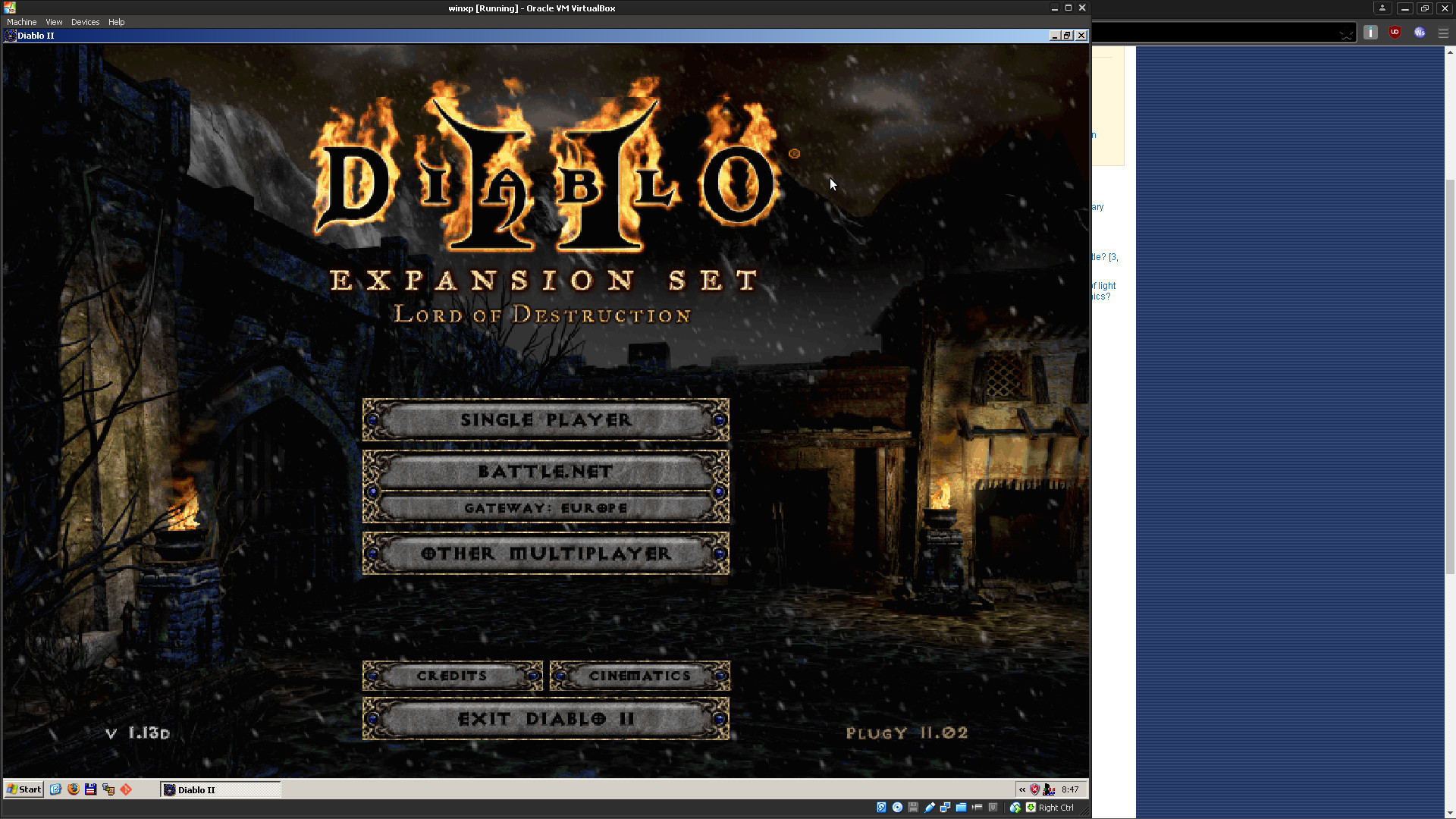 Res: 1920x1080, Diablo 2 running in multiple windows