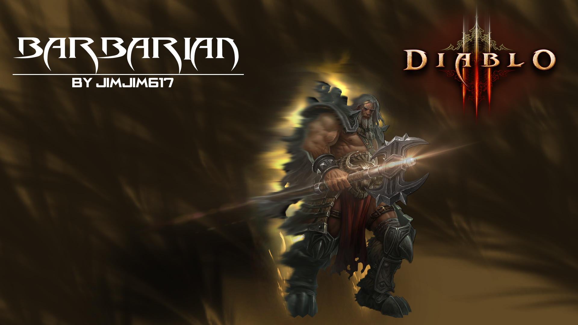 Res: 1920x1080, Diablo 3  Barbarian Wallpaper by jimjim617 Diablo 3   Barbarian Wallpaper by jimjim617