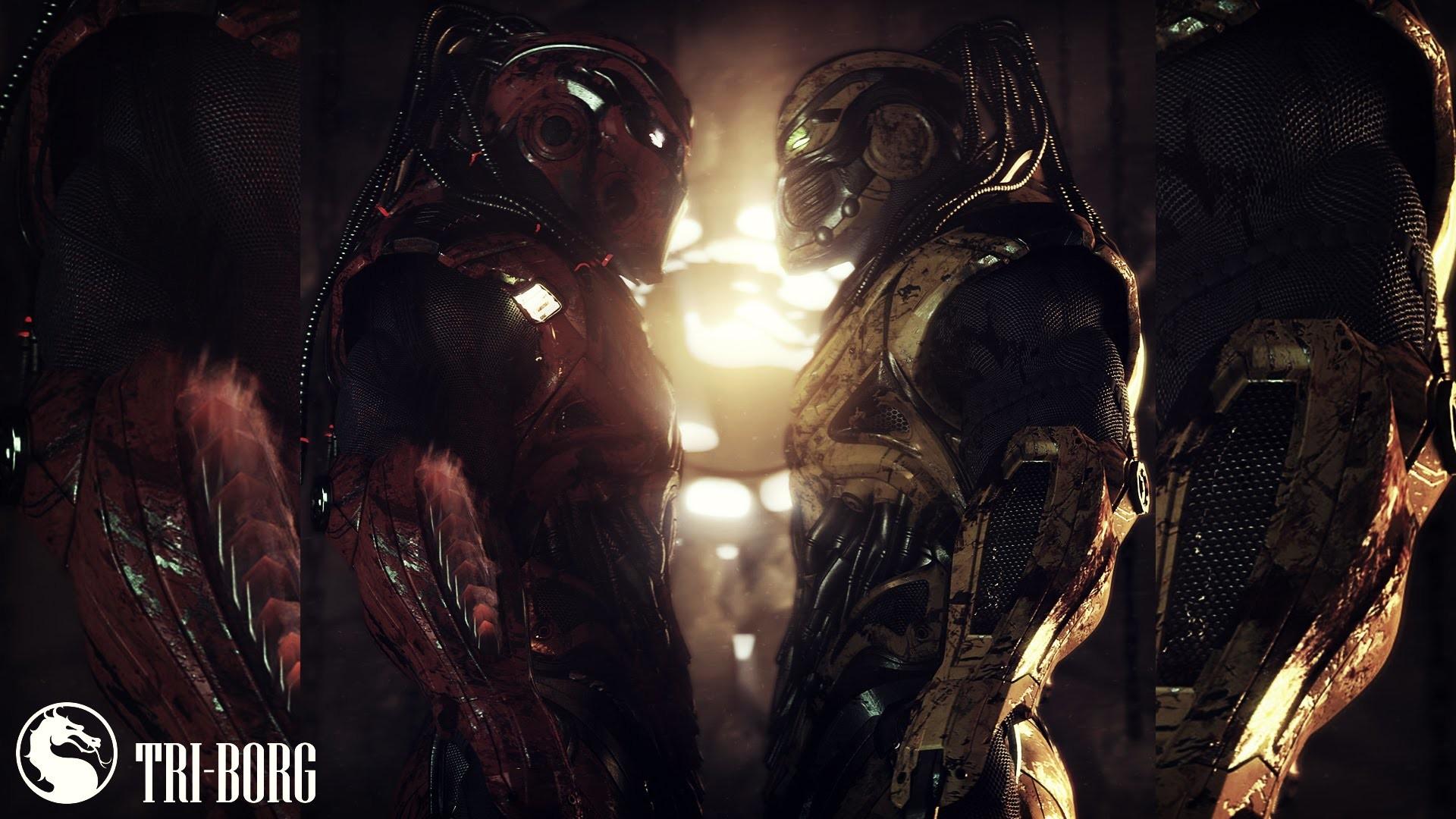 Res: 1920x1080, Mortal Kombat X - Tri-Borg Theme á´´á´°