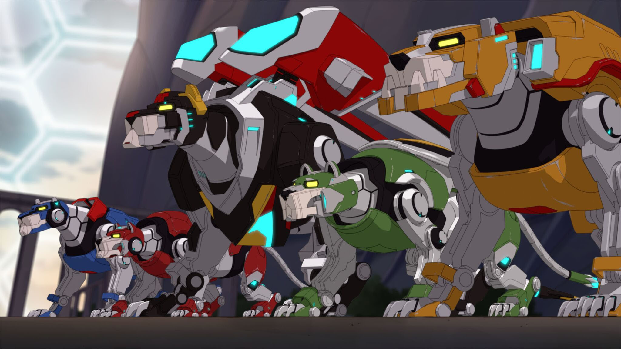 Res: 2048x1152, Voltron: legendary defender Hintergrund probably containing Anime called  Voltron Legendary Defender 5 Lions
