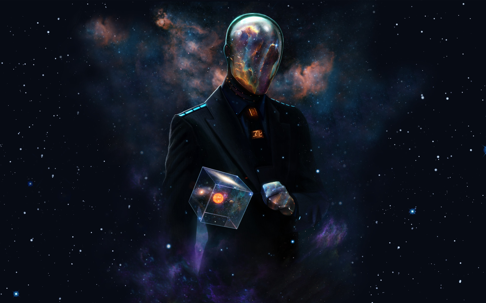 Res: 1920x1200, Space Suit in Space