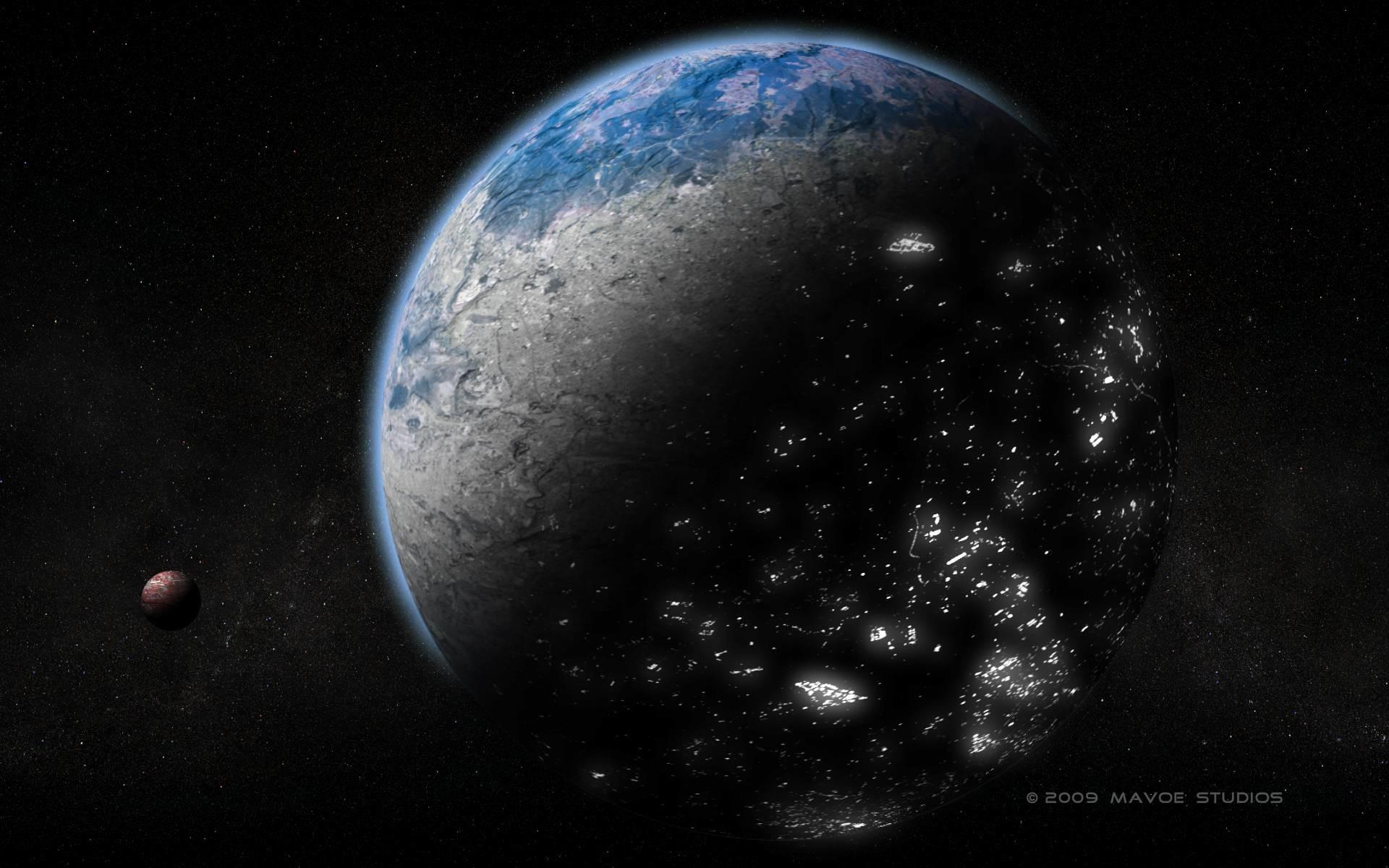 Res: 1920x1200, Alien Planet wallpaper 9806