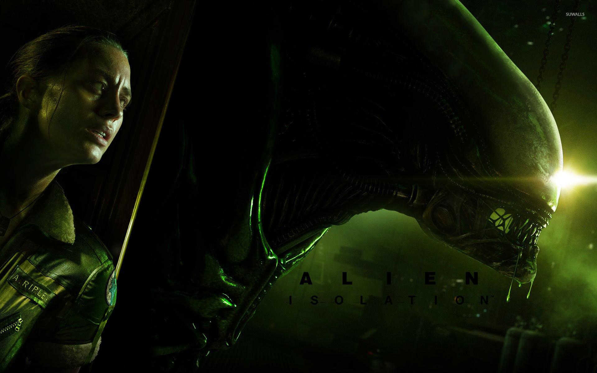 Res: 1920x1200, Alien: Isolation [3] wallpaper