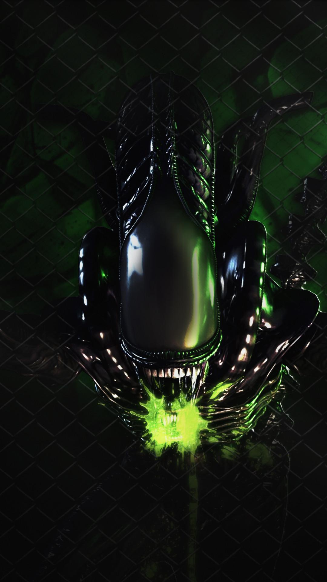 Res: 1080x1920, Alien Phone Wallpaper