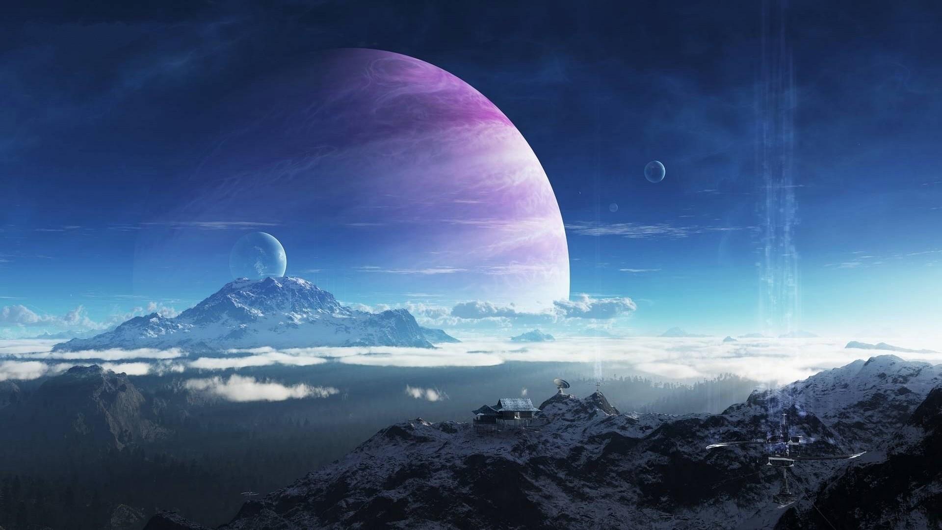 Res: 1920x1080, Aliens Moon
