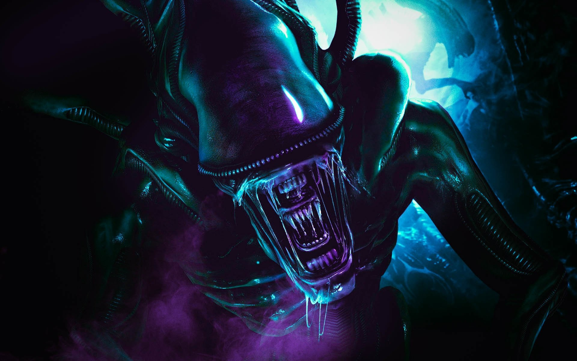 Res: 1920x1200, Best Wallpapers Alien - Download for Free › M.F. Backgrounds