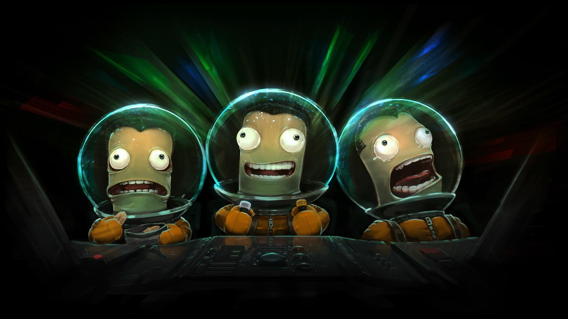 Res: 1920x1080, three space aliens wallpaper HD wallpaper