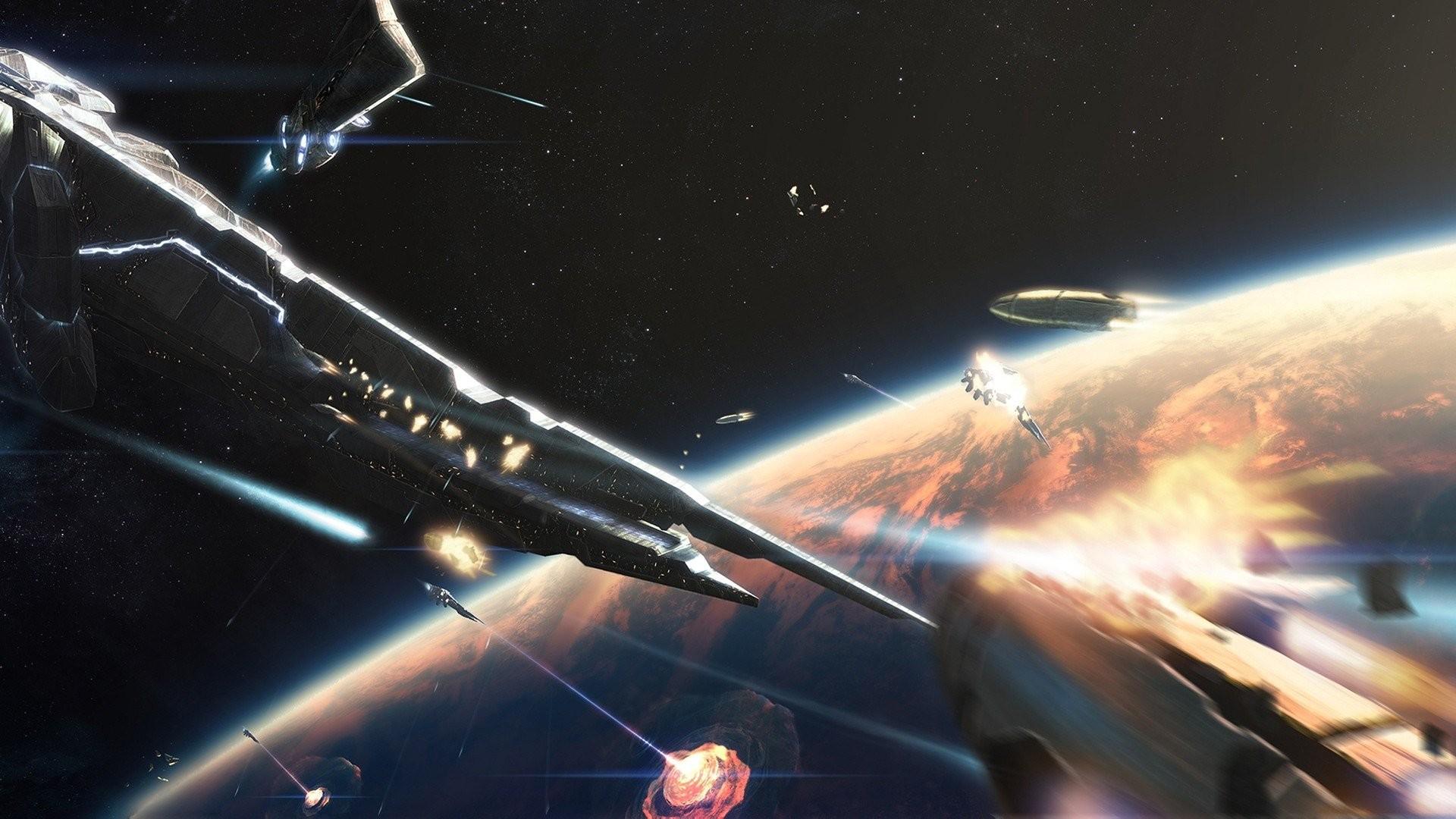 Res: 1920x1080, space battle 837473