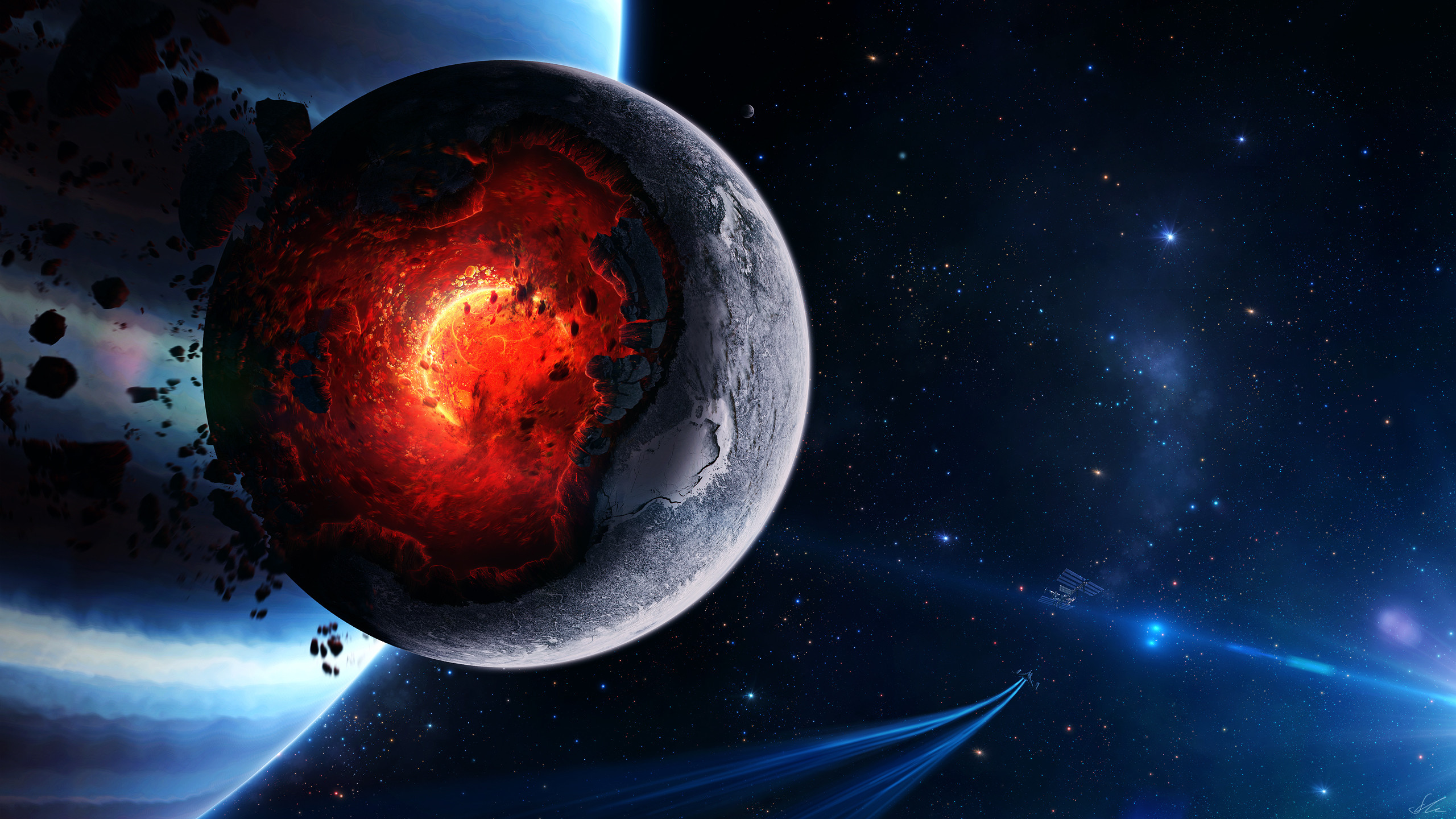 Res: 2560x1440, Awesome Wallpapers Space High Quality