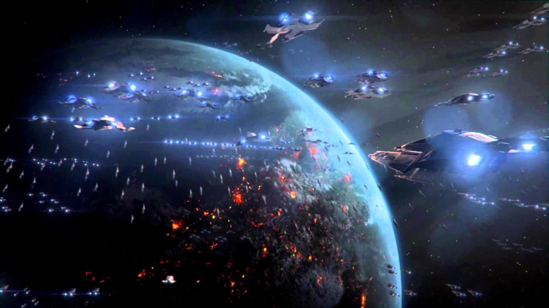 Res: 1920x1080, Mass Effect 3 Perfect Space Battle Full HD (Over 5000 War Assets) German in  3D