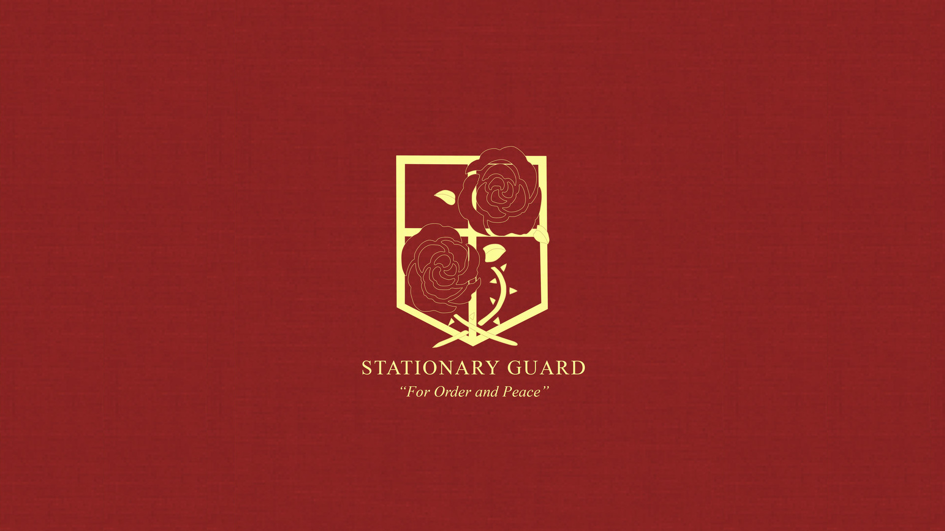 Res: 1920x1080, Attack on Titan Stationary Guard Wallpaper by Imxset21. Attack on Titan: Scouting  Legion ...