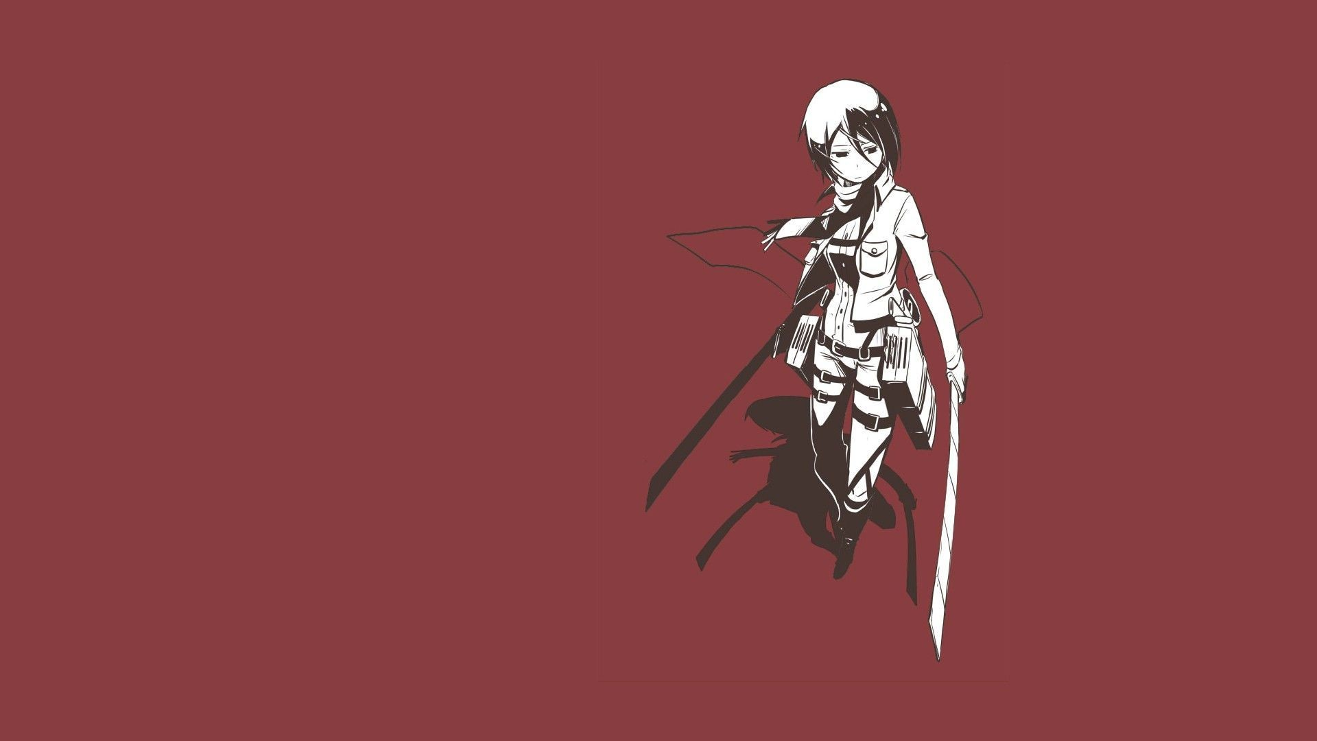 Res: 1920x1080, simple wallpaper attack on titan