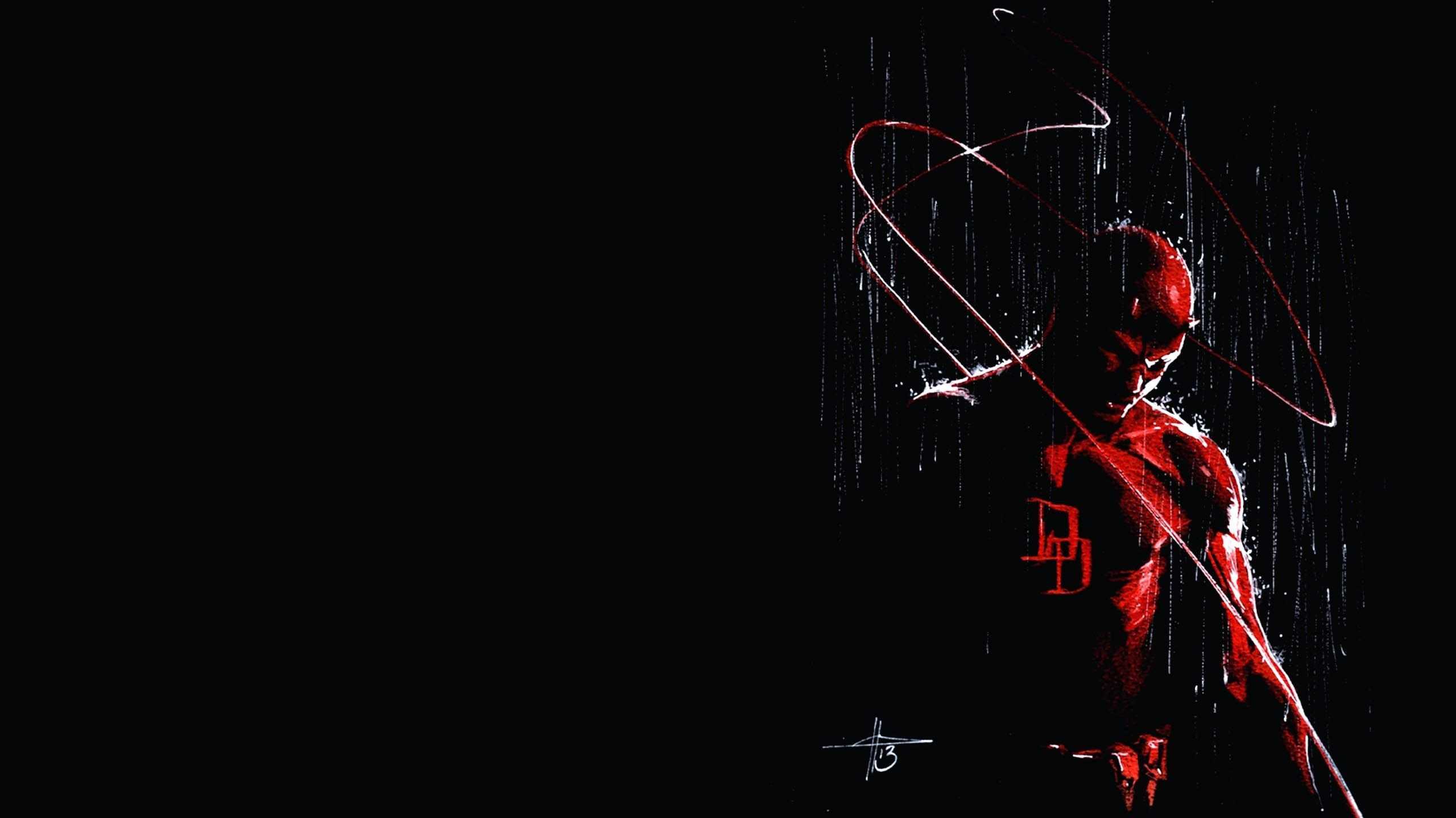 Res: 2560x1440, free download daredevil netflix costume wallpapers