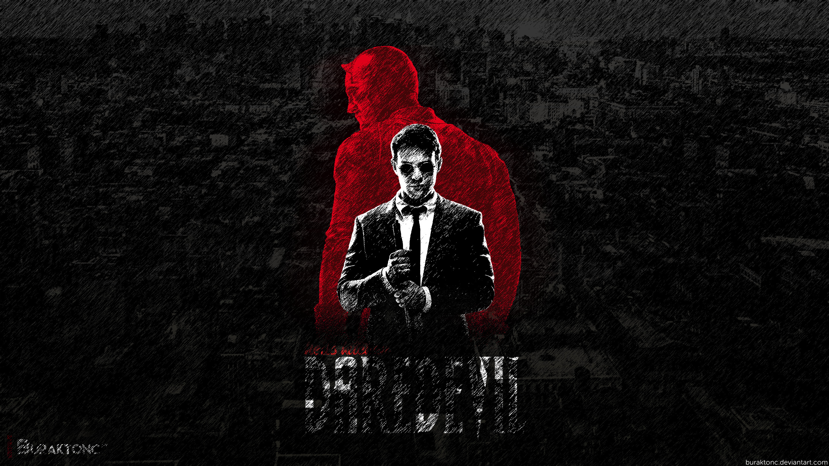 Res: 2880x1620, Daredevil Wallpaper by buraktonc Daredevil Wallpaper by buraktonc