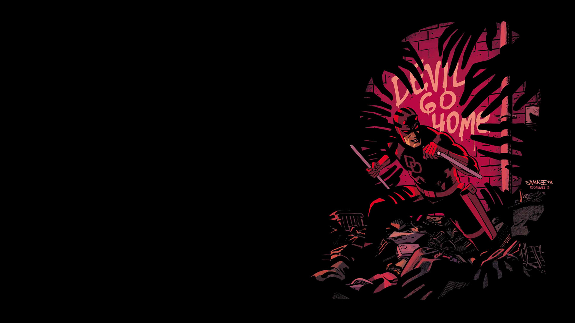 Res: 1920x1080, Comics - Daredevil Wallpaper
