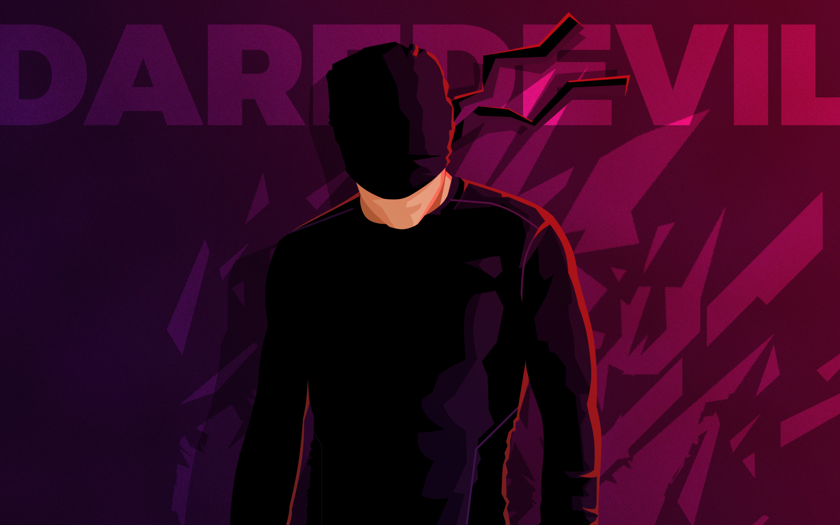 Res: 2880x1800, Creative Graphics / Daredevil Wallpaper