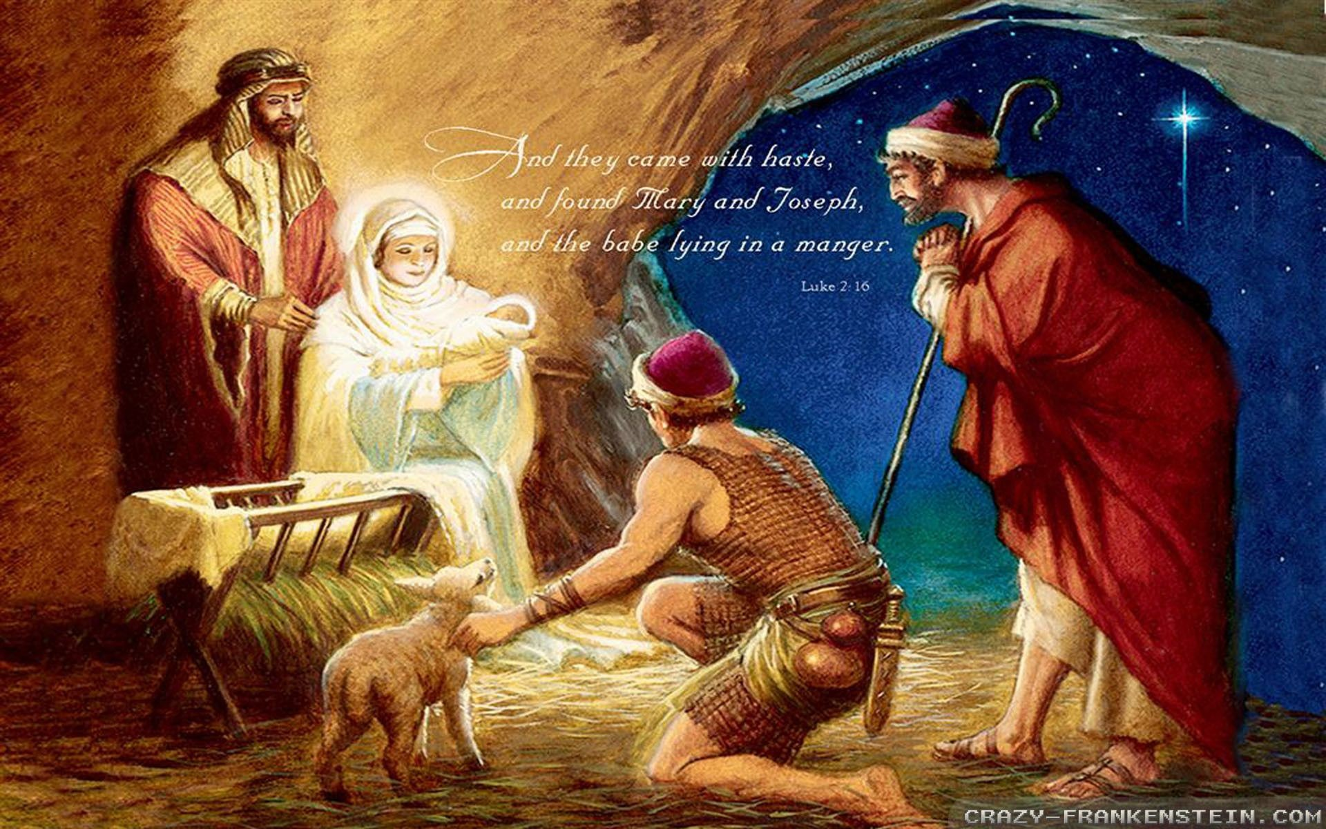 Res: 1920x1200, Christmas Nativity Scene Wallpaper (59+ images)