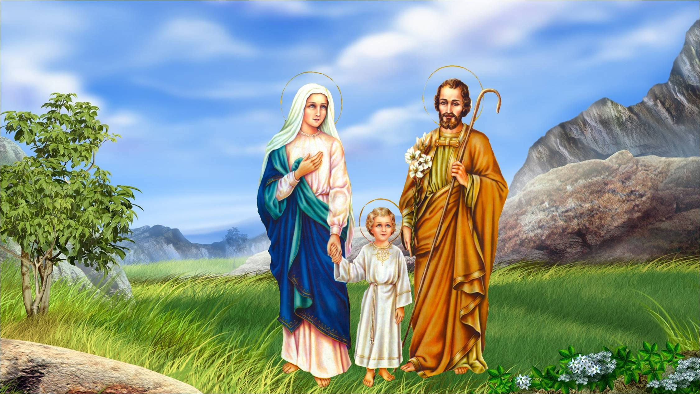 Res: 2252x1267,  px Holy Family Desktop Pics