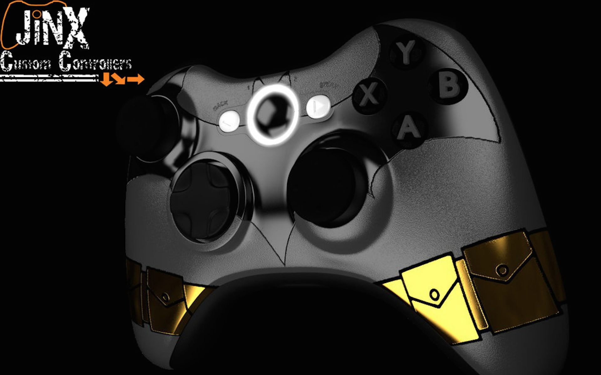 Res: 1920x1200, Batman Custom Xbox Controller Wallpaper - Wallpapers UK - Backgrounds For  all your Devices!
