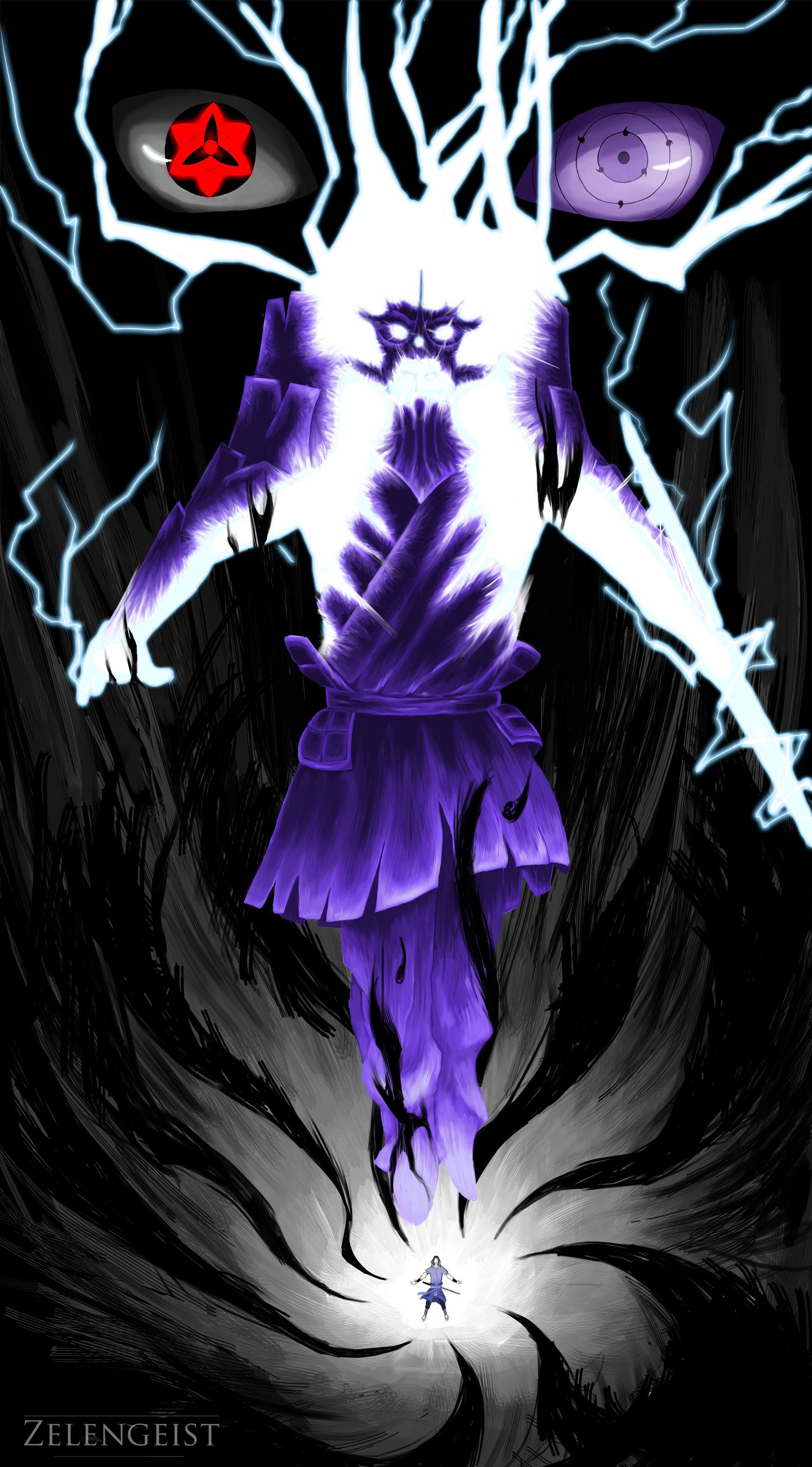 Res: 1920x3467, Sasuke Wallpaper iPhone Fresh Sasuke Entering A Downward Spiral as He  Powers Up His Susanoo Of