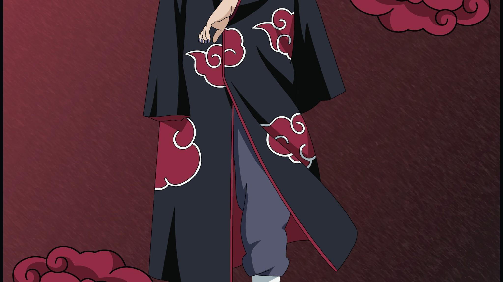 Res: 2048x1152, Akatsuki Naruto Shippuden Sharingan Uchiha Itachi