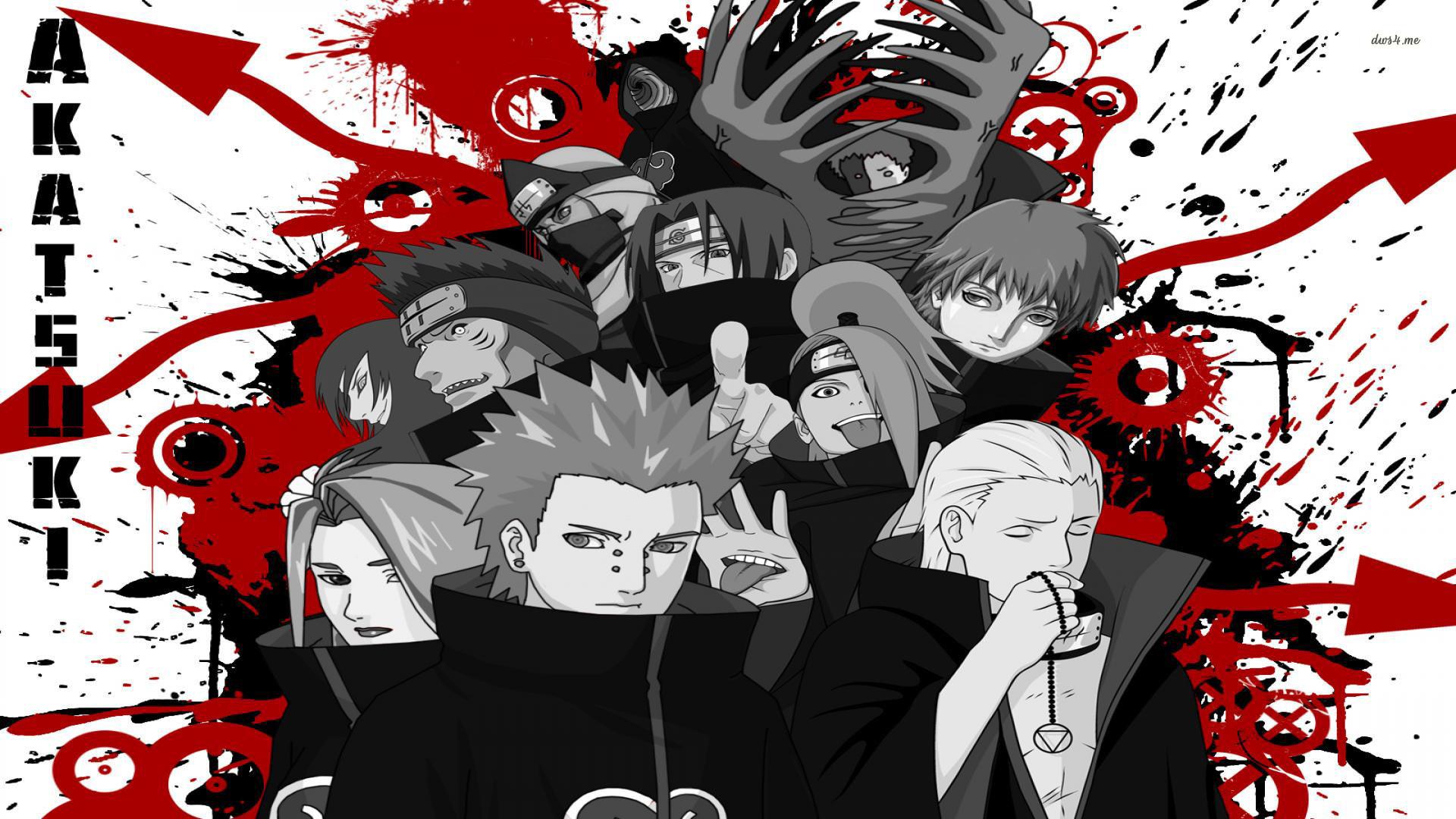 Res: 1920x1080, ... Akatsuki - Naruto-Shippuden wallpaper  ...