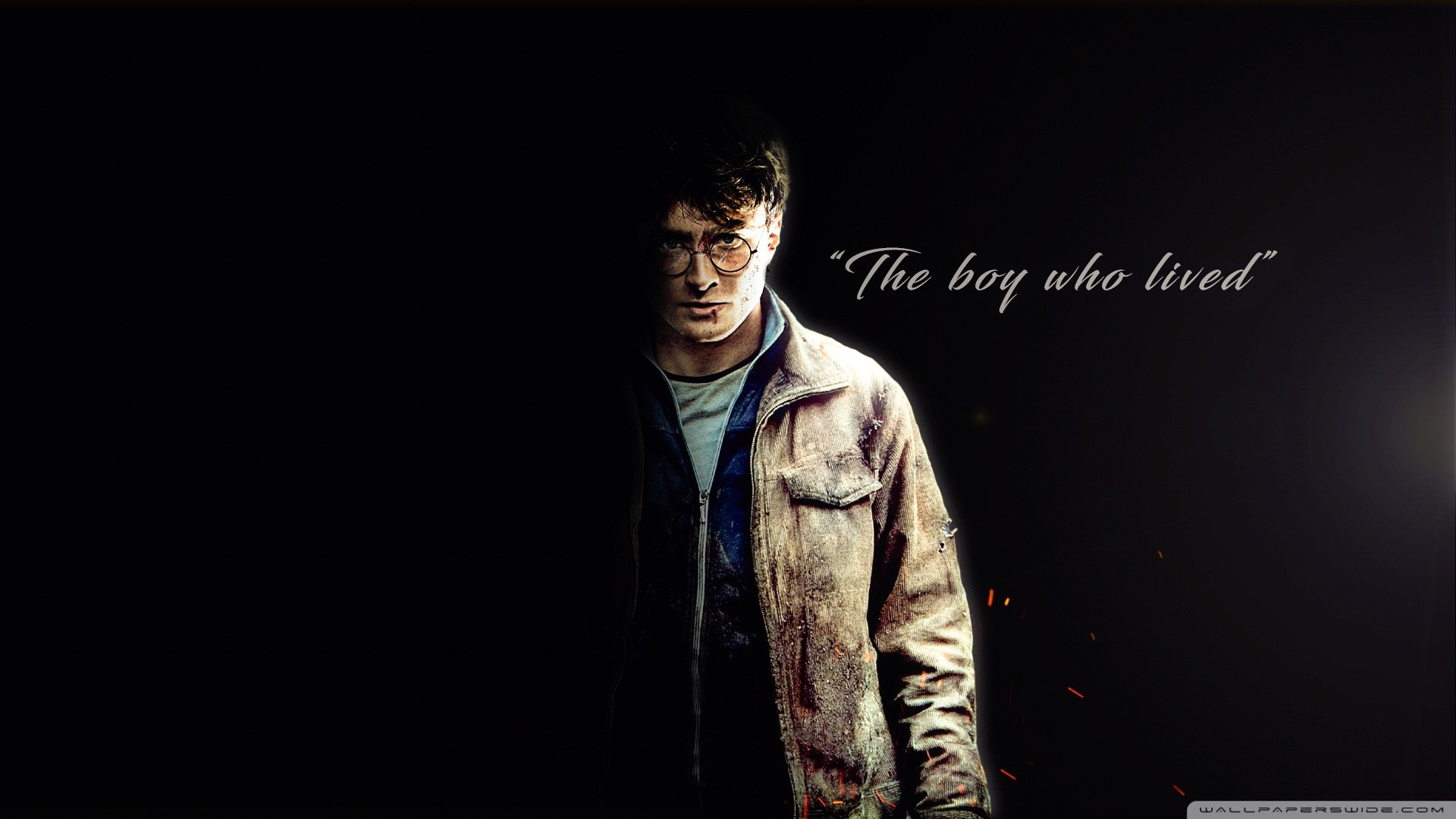 Res: 1920x1080, Harry Potter - The boy who lived HD Wide Wallpaper for 4K UHD Widescreen  desktop &
