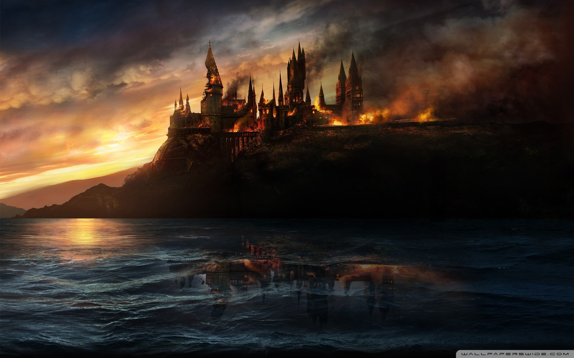 Res: 1920x1200, Harry Potter And The Deathly Hallows HD Wide Wallpaper for 4K UHD  Widescreen desktop & smartphone