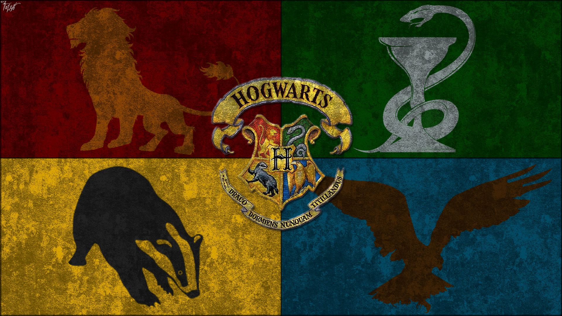 Res: 1920x1080, Hogwarts house wallpaper all by theladyavatar-d5fp057.jpg .