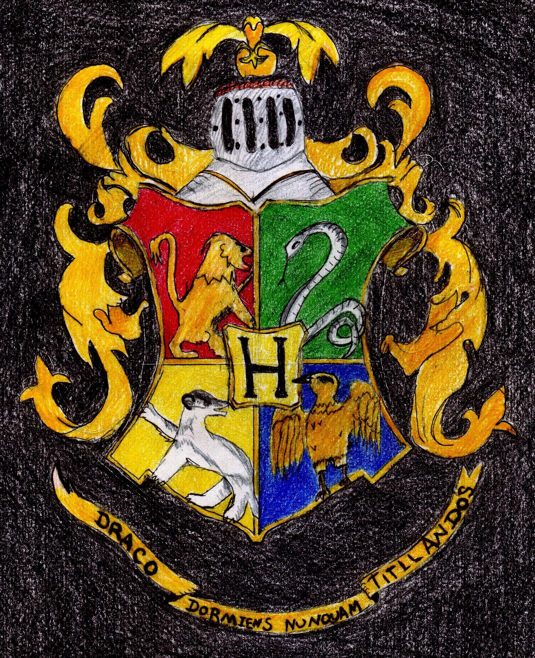 Res: 2040x2508, Harry Potter Hogwarts Crest Wallpaper Hogwarts crest by dar1989