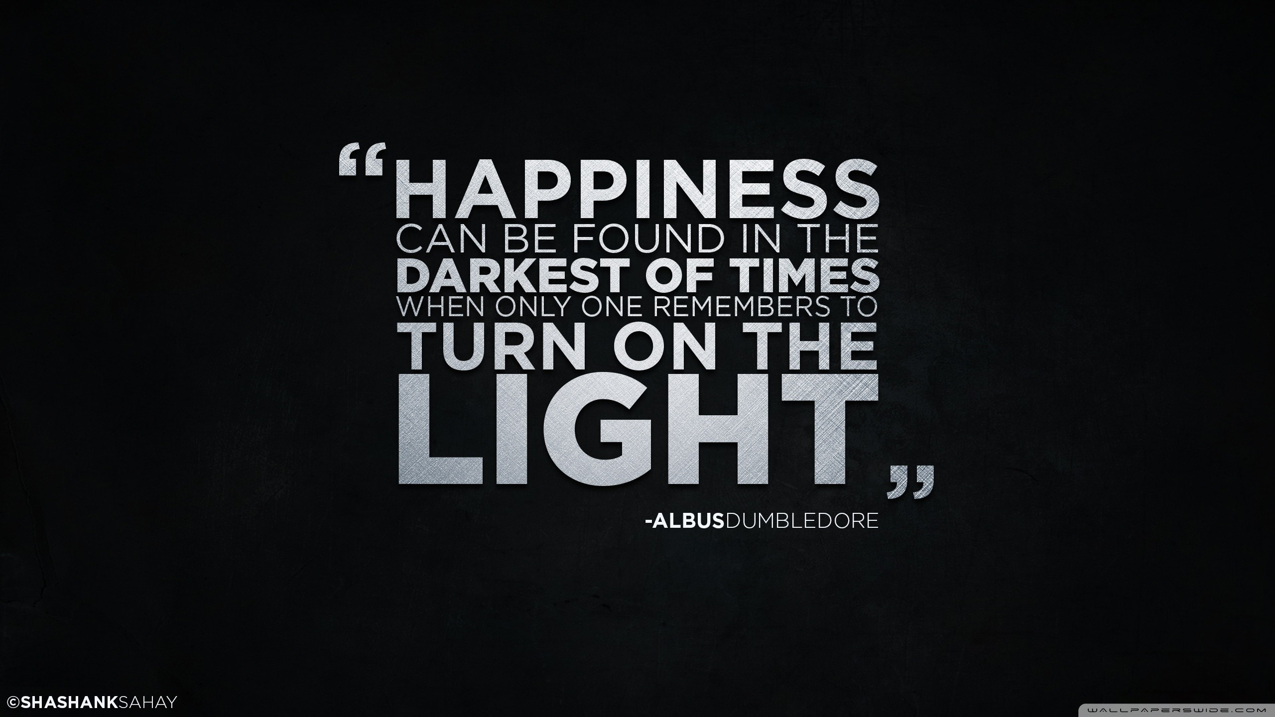 Res: 2560x1440, Harry Potter, Albus Dumbledore, Quote, Simple Background Wallpapers HD /  Desktop and Mobile Backgrounds