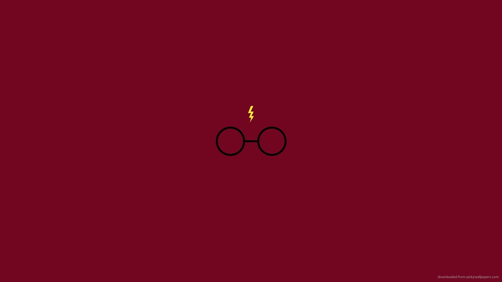 Res: 1920x1080,  Minimalistic Harry Potter for