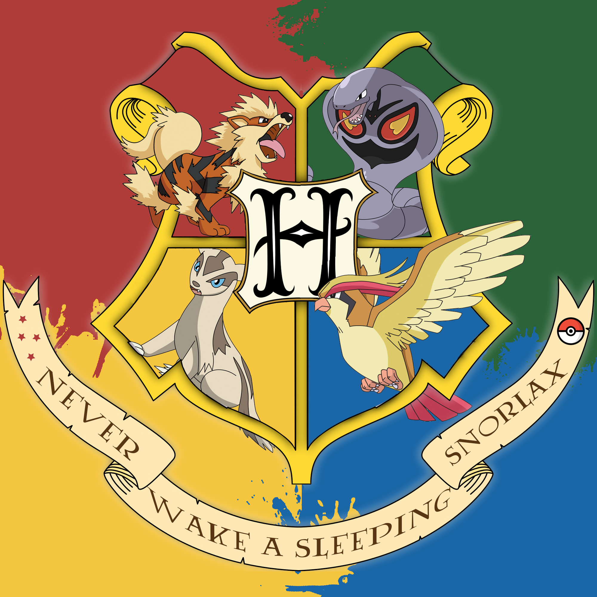 Res: 2000x2000, I made this for all the Pokémon & Harry Potter fans out there!