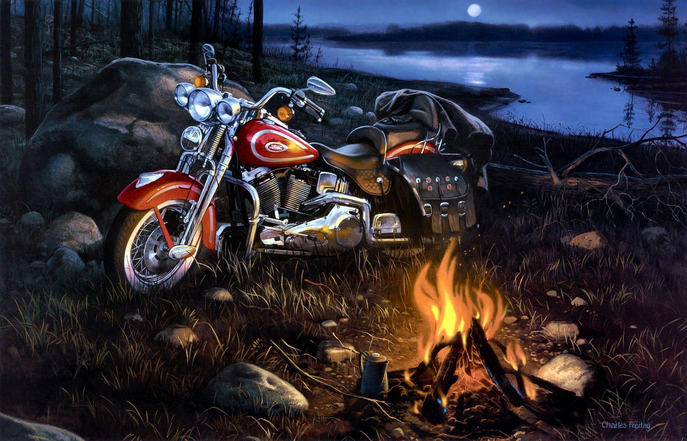 Res: 2220x1426, Desktop harley davidson bike images wallpaper Download 3d HD .
