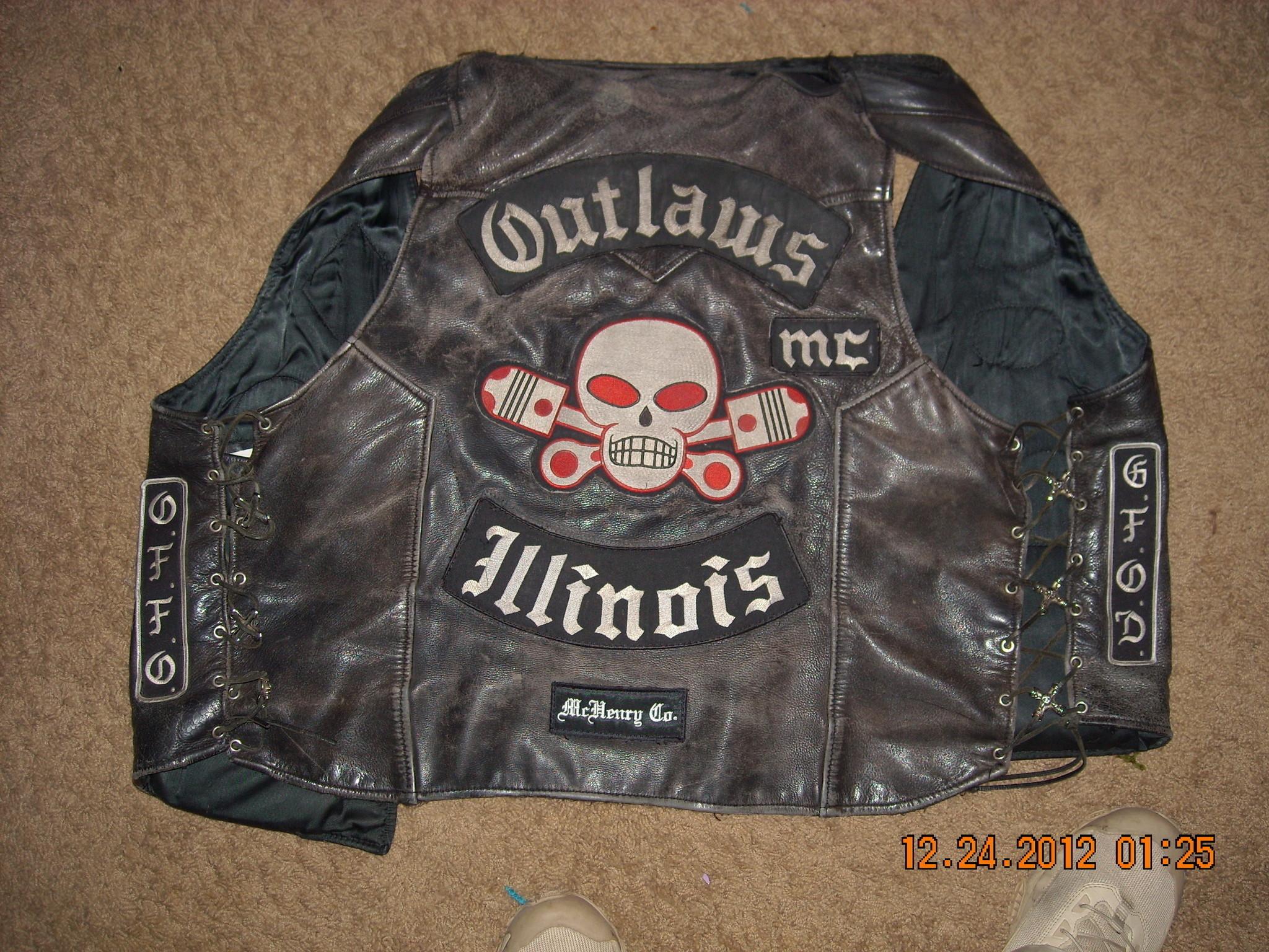 Res: 2048x1536, Outlaws biker club still seeks return of leather vests after bar fight -  Chicago Tribune