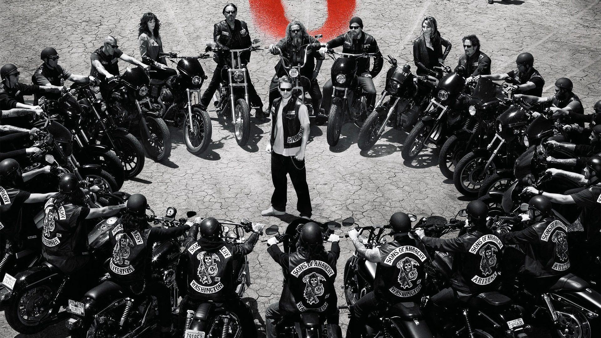 Res: 1920x1080, SONS OF ANARCHY series biker crime drama thriller wallpaper .