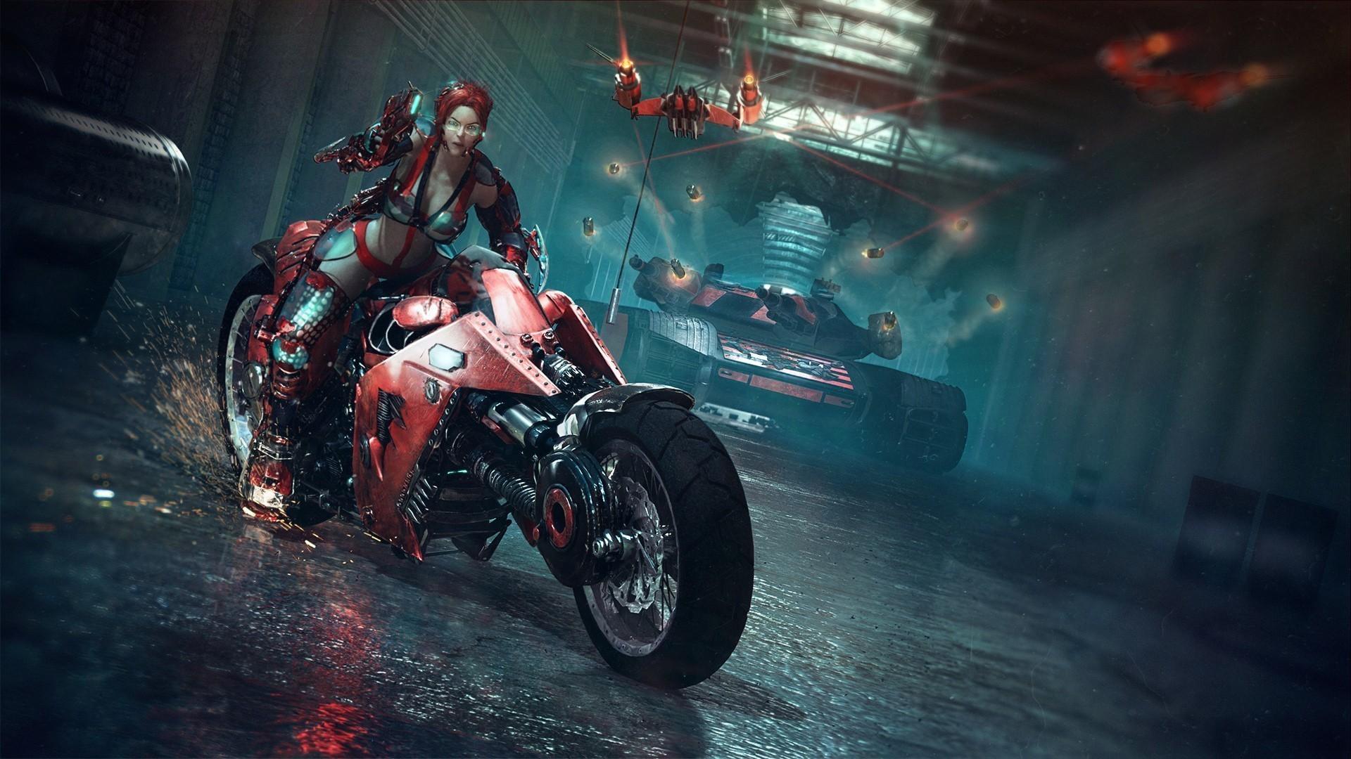 Res: 1920x1080, biker chicks wallpaper